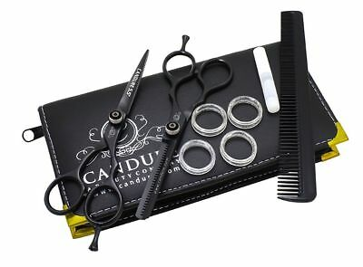 5.5'' Professional Hair Cutting Thinning Shears Barber Hairdressing Scissors Set