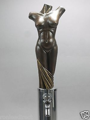 """"""" Bronze Lady""""  ( Nude Woman's Torso)  Bar Beer Tap Handle Direct From Ron Lee"""