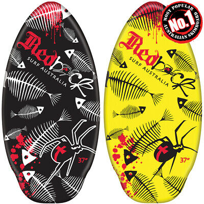 New 2019 Redback Australian Surf Skimboard 37 Or 41 Inches - Black Or Yellow
