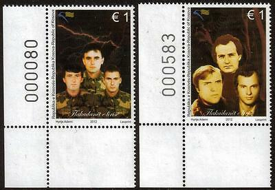 Kosovo Mnh 2012 Beacons Of Freedom