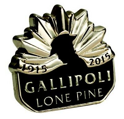 LONE PINE 1915-2015 Lapel Pin NEW *ANZAC Day *Rembrance Day