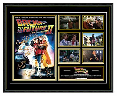 Back To The Future Part 2 Signed Limited Edition Framed Memorabilia