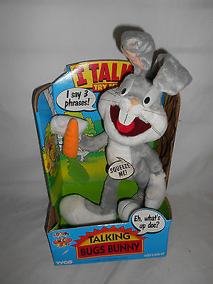 Looney Tunes Talking Bugs Bunny 1994 New In Box Tyco