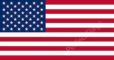 UNITED STATES OF AMERICA FLAG - USA NATIONAL - Hand, 3x2, 5x3, 8x5 Feet