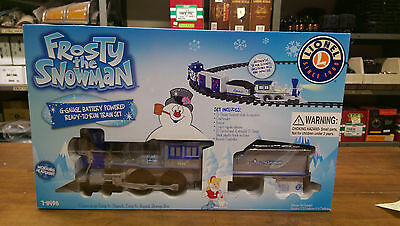 Lionel G Scale Frosty The Snowman Train Set 7-11498