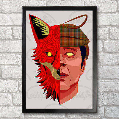 Nasty Poster Print A3+ 13x19 in - 33x48 cm Tories, Fox, The Prodigy Inspired