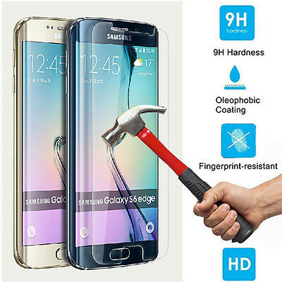 Premium Clear Tempered Glass Front Screen Protector Fr Samsung Galaxy S6 S6 Edge