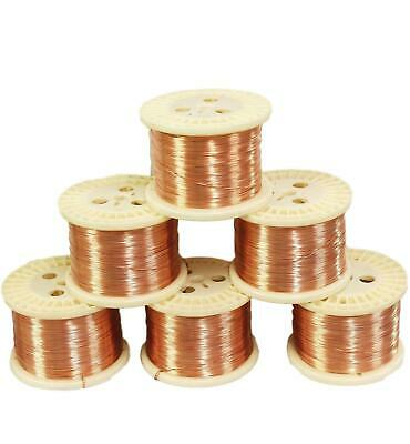 Round Copper Wire (Dead Soft) Gauges 12 To 30 See Variations 5 To 100 Ft Coil