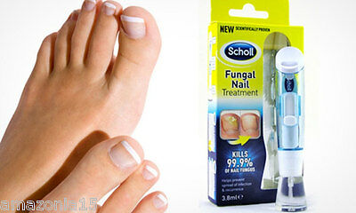 Scholl Nail Fungal Treatment 3.8ml Anti-Nail Fungus Kils 99.9% of Nail Fungus
