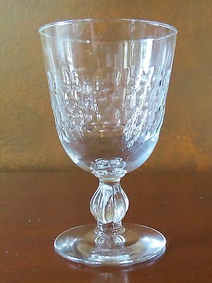 Libbey Rock Sharpe Baguette #3003 Stem Water Goblet(s)