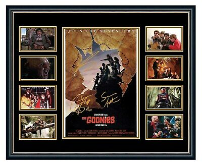 The Goonies Cast Signed Limited Edition Framed Memorabilia