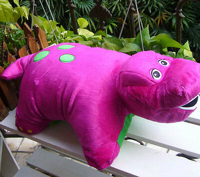 """NEW Barney and Friends Pillow Plush 18""""  BIG Pillow/Toy SOFT!"""