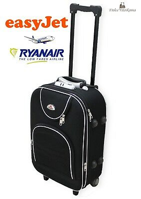 Valigia Trolley  Bagaglio A Mano Ryanair Easy Jet  2 Ruote Low Cost