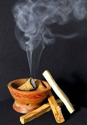 PALO SANTO INCENSE  15 Sticks Aromatic Smudging HOLY WOOD 4 + Inches Each