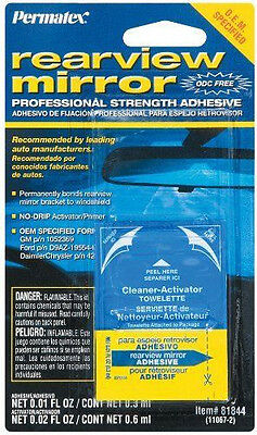 New Permatex 81844  Strength Rear View Mirror Adhesive Glue