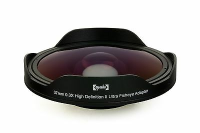 Opteka 0.3X Baby Death 34mm Fisheye Lens for Camcorders