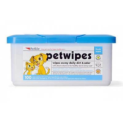 Petkin Pet Wipes Pack of 100