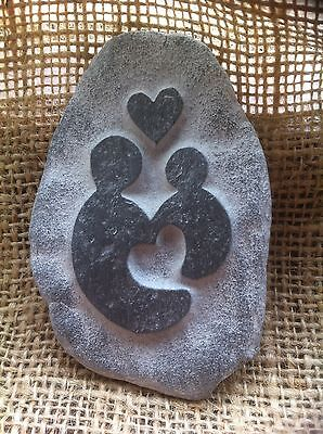 Handmade pebble, Perfect gift for Godparents, Godmother, Godfather, Cornwall