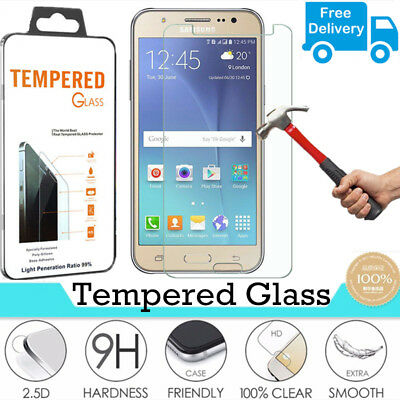 100% Genuine Tempered Glass Film Screen Protector For Samsung Galaxy J5 SM-J500F