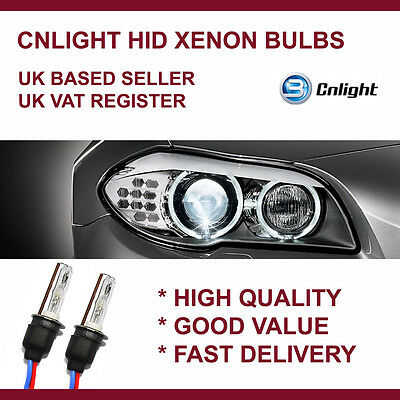 CNLIGHT Aftermarket Xenon HID Replacement bulbs 35W AC H7 H1 H11 HB3 HB4 D2S D2R