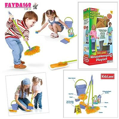 Kids Cleaning Set Toys Development Learning Activity Toddler Children Play House