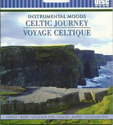 Instrumental Moods Celtic Journey Fiddle Harp Pipe Relaxational Spa Music Cd