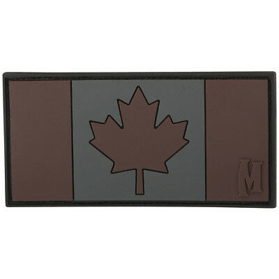 Maxpedition Canada Flag 3D Pvc Rubber Patch National Combat Badge Stealth