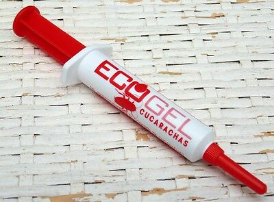 Cockroach Killer Bait Eco Gel Poison Syringe 10 Grams Ecological Eco-Friendly