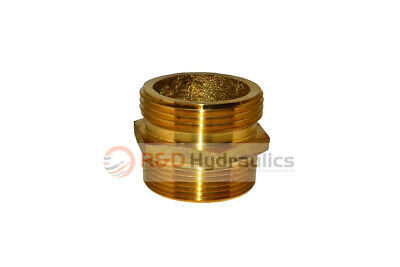 """Fire Hydrant Adapter 1-1/2"""" Npt(M) X 1-1/2"""" Nst(M)"""