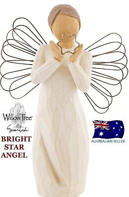 BRIGHT STAR ANGEL Demdaco Willow Tree Figurine By Susan Lordi BRAND NEW IN BOX