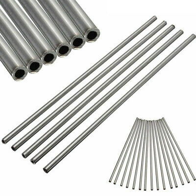 2pcs 304 Stainless Steel Capillary Tube OD 4mm x 3mm ID, Length 250mm