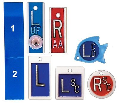 X-Ray Marker Reusable Sticky Strip Set