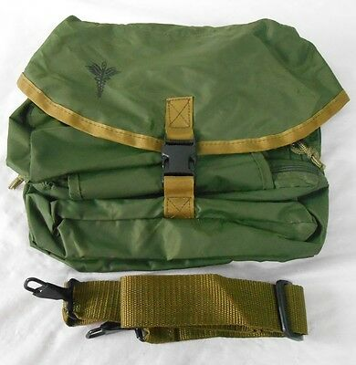 Medical Instrument and Supply Set Nylon Case OD Green New without Tags