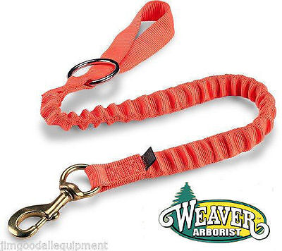 "Bungee Chain Saw Lanyard, With Ring & Bronze 225 Snap is 4-1/4""long,1-3/16"" wide"