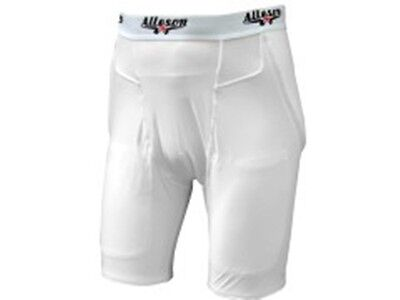 Alleson Athletic Solo Series Youth Boys Integrated 3 Pad Football Girdle 699PSY