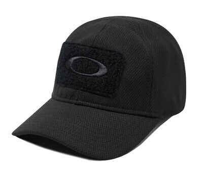 OAKLEY 911444A SI Standard Issue Tactical Morale Patch Men's Black Cap