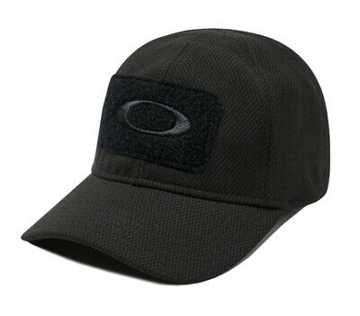 OAKLEY SI Standard Issue Tactical Morale Patch Men's Black Cap 911444A