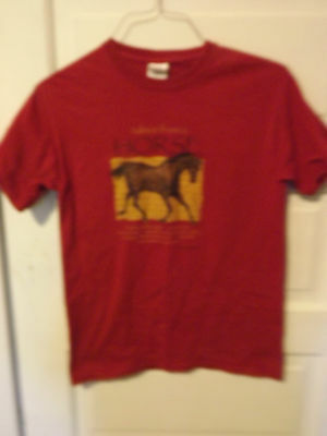 Advice From a Horse T-Shirt/Western/Equestrian/Adult Small/The Field Museum