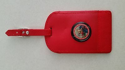 Luggage Tags Red St Christopher