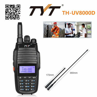 TYT TH-UV8000D Transceiver 136-174/400-520Mhz 10W HP Cross-band Repeater 1000CH
