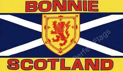 BONNIE SCOTLAND FLAG - SCOTTISH NATIONAL FLAGS - Choose Size 3x2, 5x3 Feet