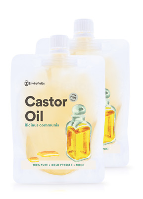 CASTOR OIL (HIGHEST MEDICINAL BP GRADE) 200ml  - 100% PURE *** FREE SHIPPING***