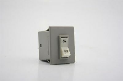 AIRPAX 203-22-1-62-502-4-3-1 ON-OFF Toggle Switch 250V Max 5A Lite 33K/100K Ohm