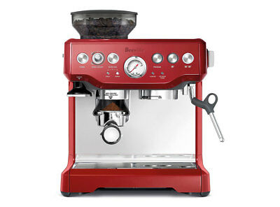 Breville BES870CBXL Barista Express Automatic Espresso Machine Cranberry Red