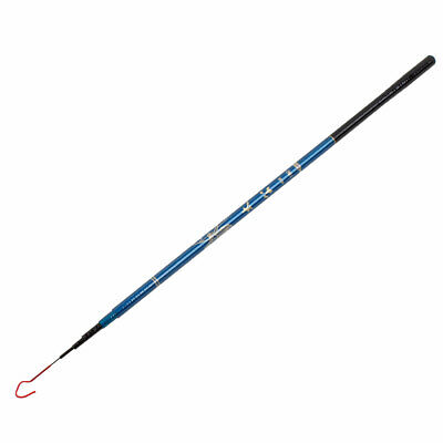 5.9Ft Long 6 Sections Telescopic Plastic Round Handle Fishing Pole Rod