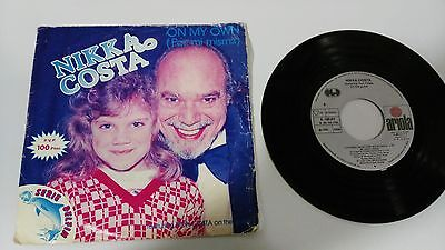 "Nikka Costa On My Own Single 7"" Vinyl Spanish Edition Mega Rare!!!"