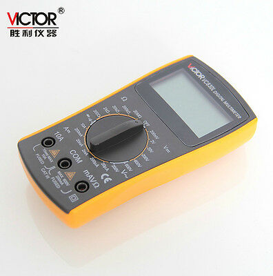VICTOR VC830l  LCD Display Digital Multimeter 2nF~20000uF Capacitor support