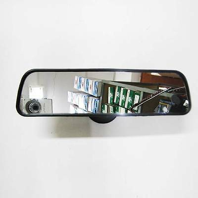 Interior Car Wide Rear View Mirror 25cm Adjustable Suction Adhesive Windscreen