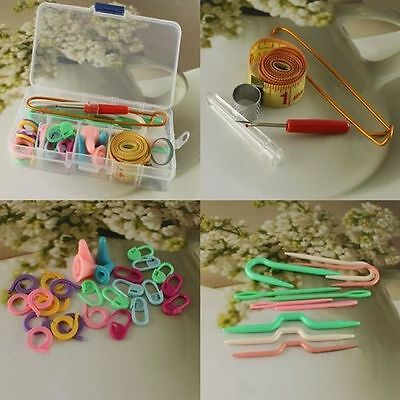Knitting Knit Set Basic Knitting Tools In A case Lots Knit Hot Accessory Supply