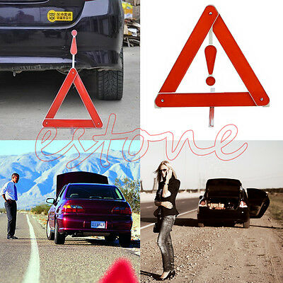 Durable Warning Board Stop Vehicle Rear Danger Reflective Safety Triangle Sign